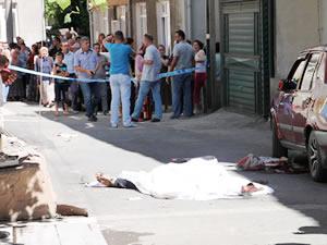 Ere�li�de sokak ortas�nda cinayet: �ki ki�i ya�am�n� yitirdi!