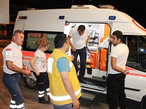 Ereğli'deki 112 sağlık ekibine gece denetimi
