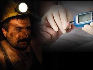 'Dönememe korkusu' maden işçisinin şeker riskini artırıyor