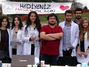 BEÜ Tıp Fakültesi öğrencileri organ bağışı kampanyası düzenlediler