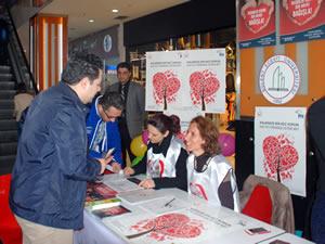 Ereğli'de üniversite öğrencilerinden organ bağışı kampanyası