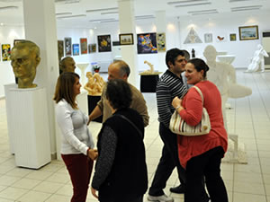 'Ekim Geçidi: 11' sergisi açıldı