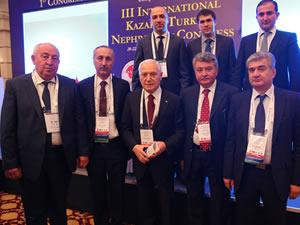 Haberal'ın kurduğu Türk Dünyası Transplantasyon Derneği ilk kongresini Astana'da yapıyor