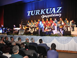 Halk ozanları düzenlenen konserle anıldı