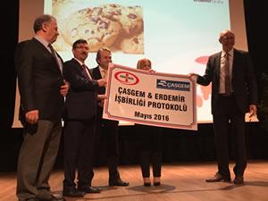 ERDEMİR ile ÇASGEM arasında işbirliği protokolü imzalandı