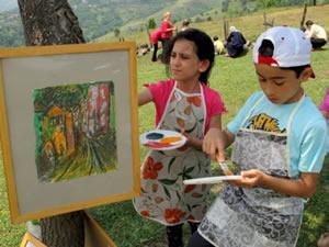 3. Çırgan Köyü Sanat Atölyesi 29 Mayıs'ta