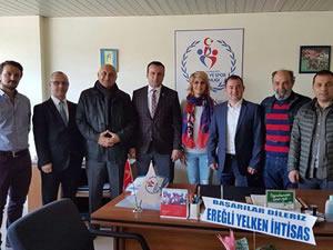 Yelken İhtisas Kulübü yöneticileri, Keleş'i ziyaret etti
