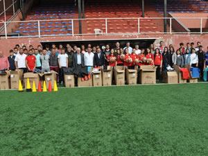 Ereğli Belediyespor'un tüm sporcularına malzeme desteği