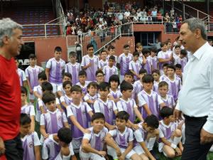Ereğli Belediyespor Futbol Okulu başladı
