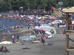 Belediye Plajı yaz sezonunu kapatıyor