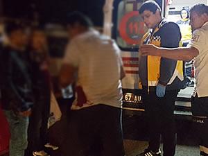 Bıçaklı kavgada iki kişi yaralandı