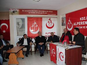 MHP Ereğli İlçe Yönetimi'nden AKP ve BBP'ye ziyaret