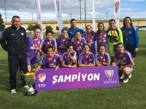 Ereğli Belediyesporlu genç kızlar, Türkiye şampiyonu oldular