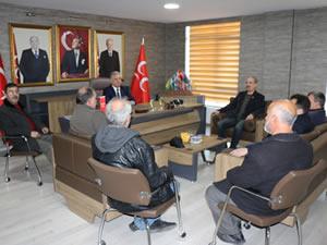 Madeni İşler ve Sanatkarlar Odası'ndan Demirtürk'e ziyaret