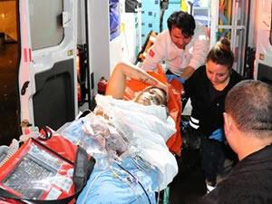 Silahla yaraladılar, hastane bahçesine bırakıp kaçtılar