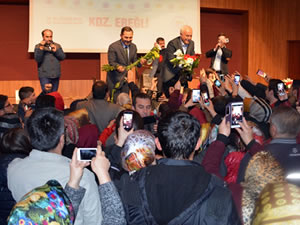 Prof. Dr. Hatipoğlu, Ereğli'de konferans verdi