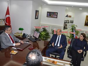 ERDEMİR Genel Müdürü Orhan'dan TSO'ya ziyaret