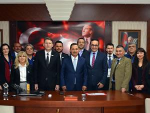 LÖSEV Başkanı Dr. Ezer'den Uysal'a ziyaret