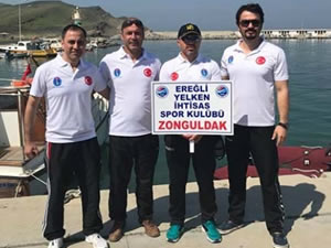 Ereğli Yelken İhtisas Kulübü sporcuları, yarı final yarışlarından başarıyla döndü
