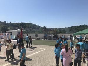Kızılca Ortaokulu'nda bilim fuarı düzenlendi