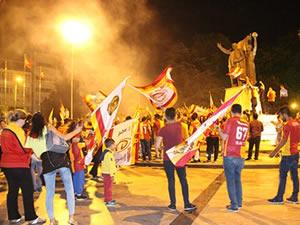 Galatasaray'ın şampiyonluğunu kutladılar