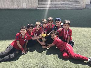 Ereğli İlkokulu satranç takımı Zonguldak il birincisi oldu