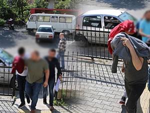 Uyuşturucu operasyonunda gözaltına alınan 7 kişiden 4'ü tutuklandı