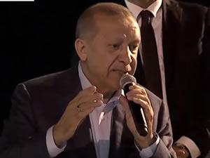 Cumhurbaşkanı Erdoğan Ereğli'deydi: Bu vatanı parçalayamayacaklar
