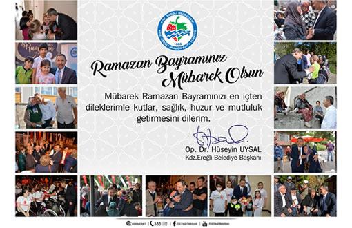Uysal'ın Ramazan Bayramı mesajı