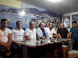 CHP İlçe Başkanı Ocakcı, taksi duraklarını ziyaret etti