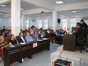 Belediye Meclisi'nin Temmuz ayı toplantısı gerçekleştirildi