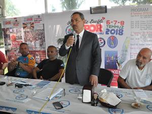 Ereğli Belediyesi'nin düzenlediği spor etkinlikleri için tanıtım toplantısı yapıldı