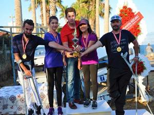Paralimpik Yelken Türkiye Şampiyonası'nda Ereğlili sporcu Türkiye birincisi oldu