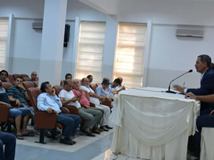 Belediye Başkanı Uysal, amatör balıkçılarla bir araya geldi