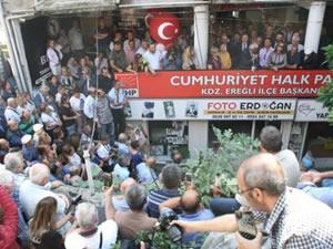 Posbıyık, Ereğli Belediye Başkanlığı için aday adaylığını açıkladı