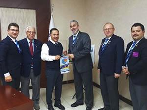 Rotary Kulübü'nden Belediye Başkanı Uysal'a ziyaret