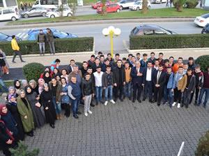 AK Parti Adayı Şahin gençlerle buluştu, Ereğli'ye beş yeni fakülte sözü verdi