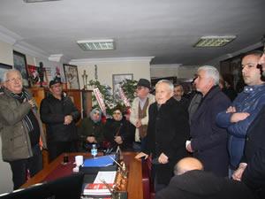CHP Belediye Başkan Adayı Posbıyık'a destek ziyaretleri sürüyor