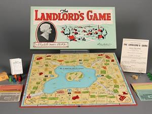 Kapitalist masa oyunu Monopoly'nin sol kökenleri