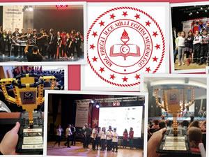 Ereğli'den üç okul, Bilim Kahramanları Derneği'nin turnuvasından ödüllerle döndü