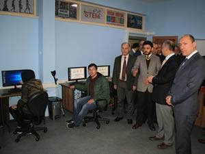 Ereğli Mesleki ve Teknik Anadolu  Lisesi'nde 3 Boyutlu Tasarım Atölyesi açıldı