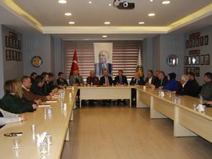 CHP Belediye Başkan Adayı Posbıyık, Ereğli TSO'yu ziyaret etti