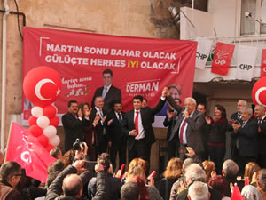 CHP'nin Gülüç Seçim Bürosu düzenlenen etkinlikle açıldı