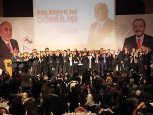 AK Parti Belediye Başkan Adayı Erol Şahin projelerini açıkladı