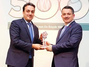 """""""Anadolu'nun En Büyük 500 Şirketi"""" araştırmasında Kardemir'e iki ödül"""