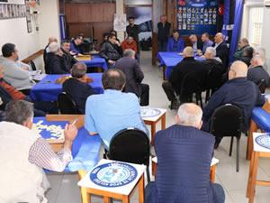 Şahin, Yenimahalle Spor Kulübü'nü ziyaret etti