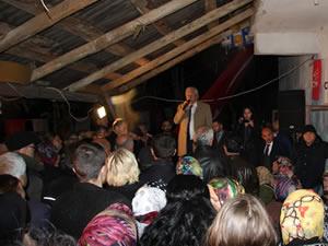 Posbıyık, Balı Mahallesi'nde vatandaşlarla bir araya geldi
