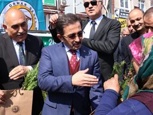 Tarım ve Orman Bakan Yardımcısı Mustafa Aksu, AK Partili Şahin'e destek için Ereğli'ye geldi