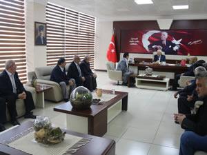MHP ve BBP'den Belediye Başkanı Posbıyık'a ziyaret