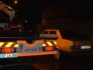 Polisin dur ikazına uymayan sürücü, kovalamacanın ardından yakalandı